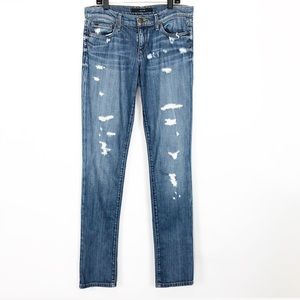 JOES Jeans Shae Cigarette Skinny Jeans Distressed